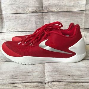 Nike Hyperchase 11.5 Red White Basketball Shoes